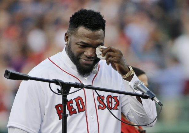 david ortiz takes first steps