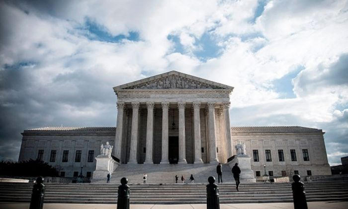 The United States Supreme Court building is seen in Washington on Dec. 24, 2018. (Eric Baradat/AFP/Getty Images)