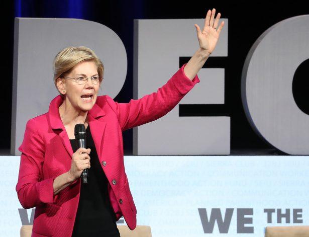 Democratic Presidential candidate Sen. Elizabeth Warren (D-Mass.)