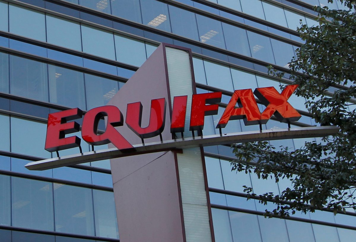 Credit reporting company Equifax corporate office