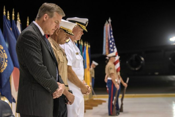 Dr. James Anderson and other service members