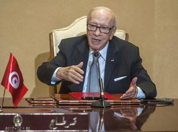 Tunisian President Beji Caid Essebsi