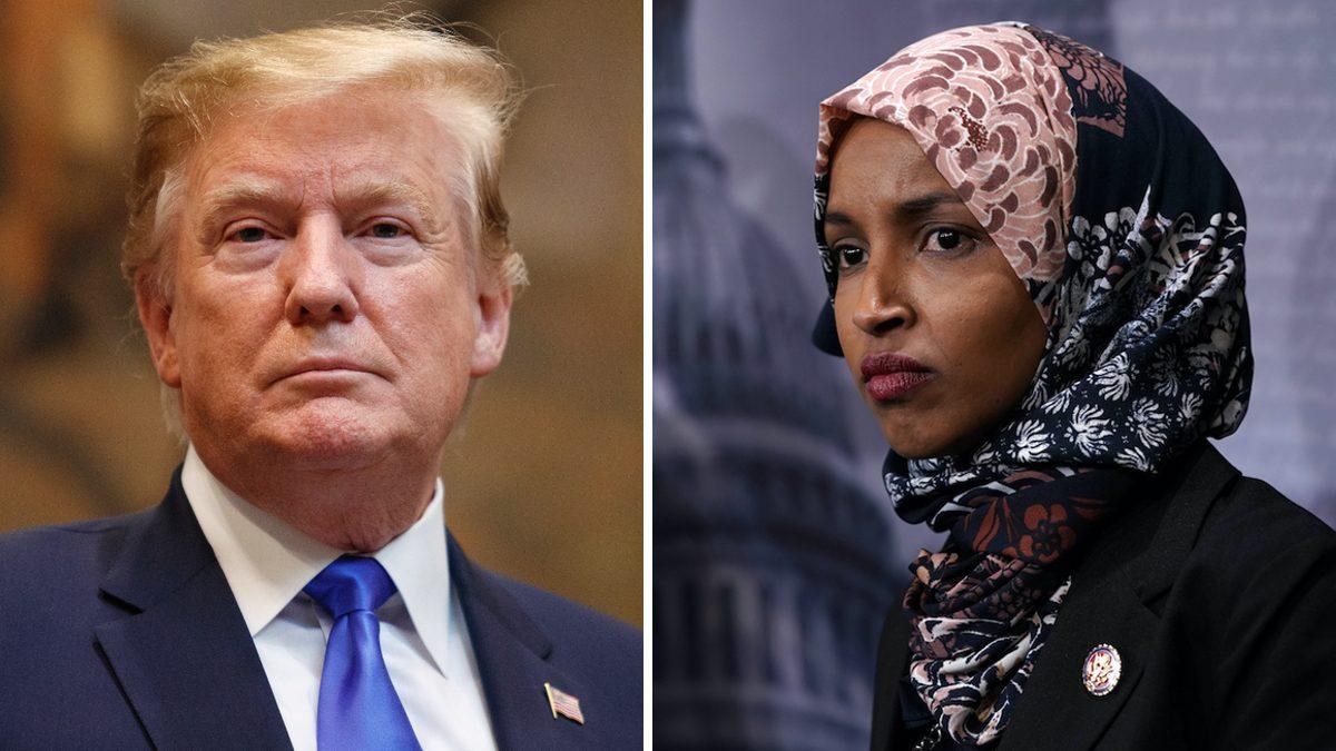 Trump and Omar