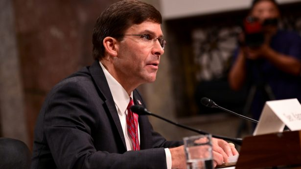 Defense Secretary nominee Mark Esper