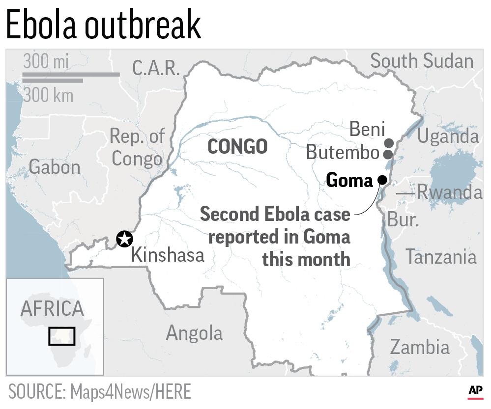 CONGO GOMA EBOLA