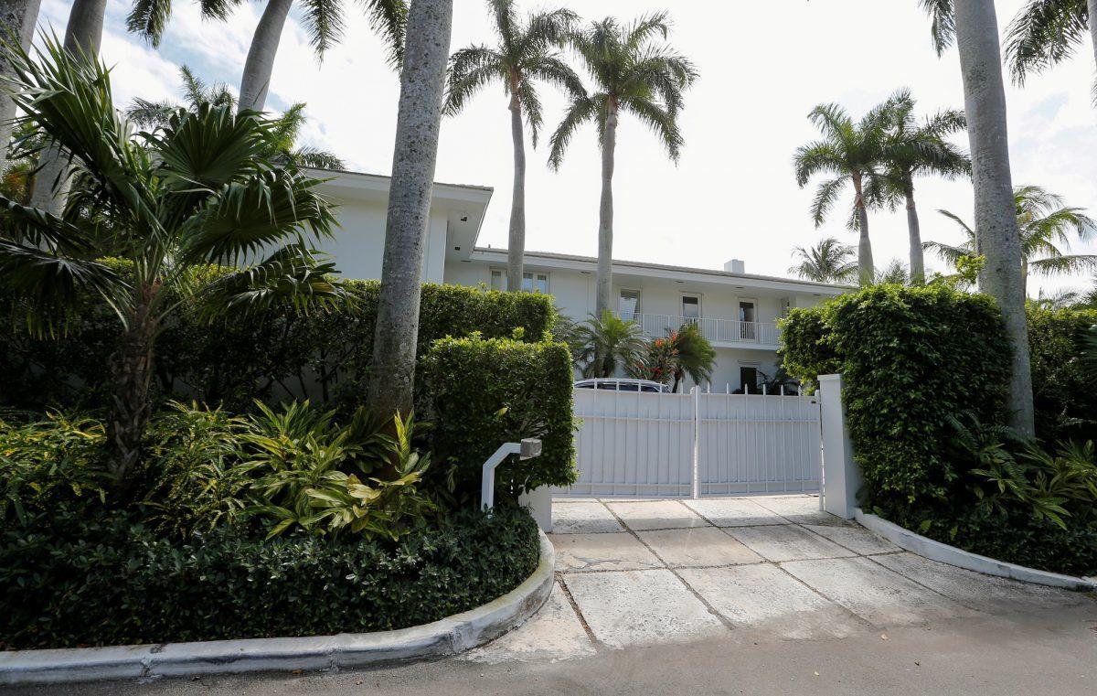 Epstein Palm Beach residence