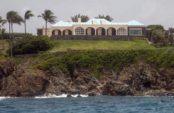 epstein island raided