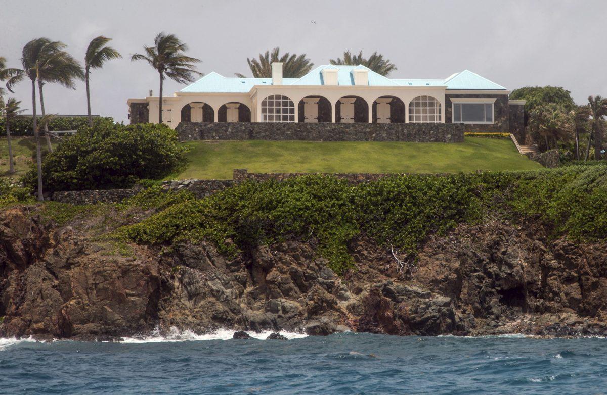 jeffrey epstein island