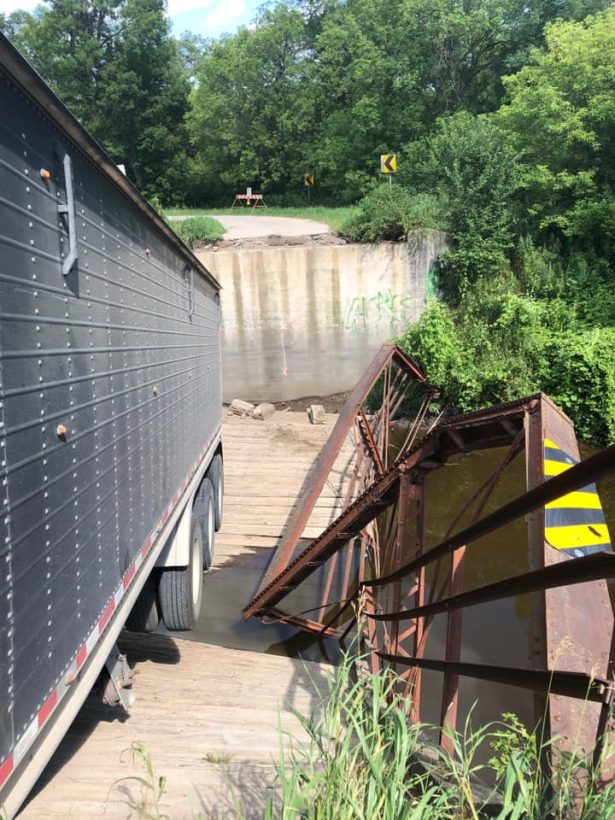 ND bridge collapse