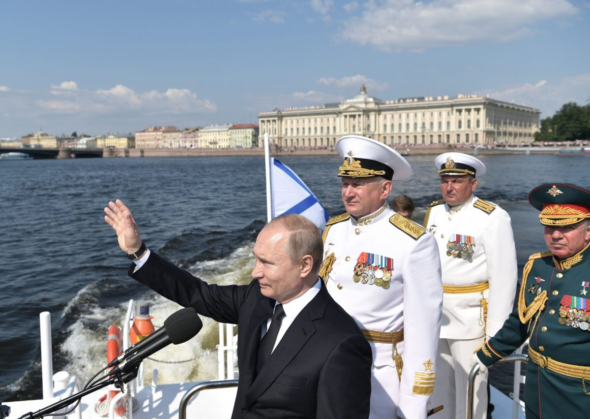 putin russian navy