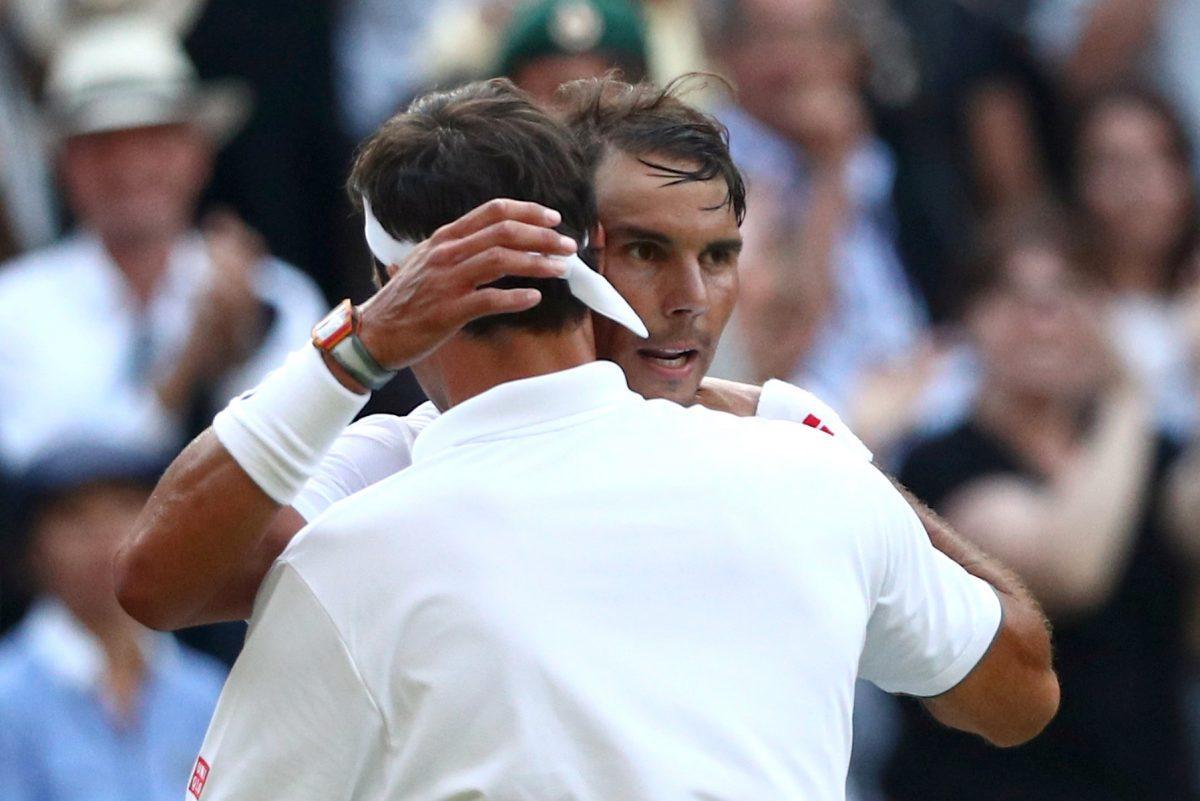 Wimbledon Federer Nadal