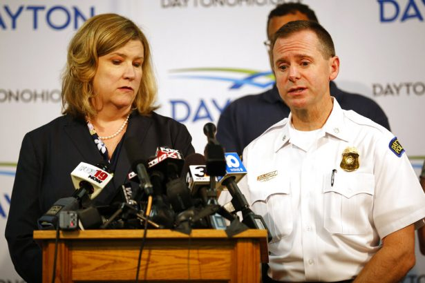 Dayton mayor Nan Whaley and police Lt. Col. Matt Carper give the latest update on the mass shooting in Dayton, Ohio