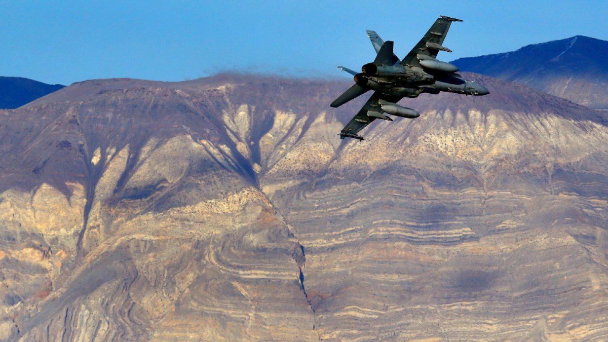 Fighter jet death valley
