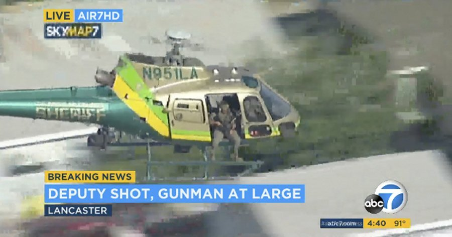 Los Angeles sniper wounded deputy
