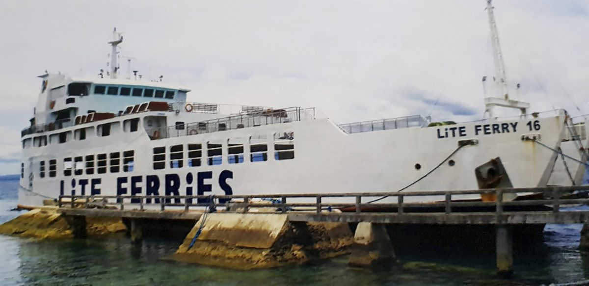 Philippines Ferry Fire