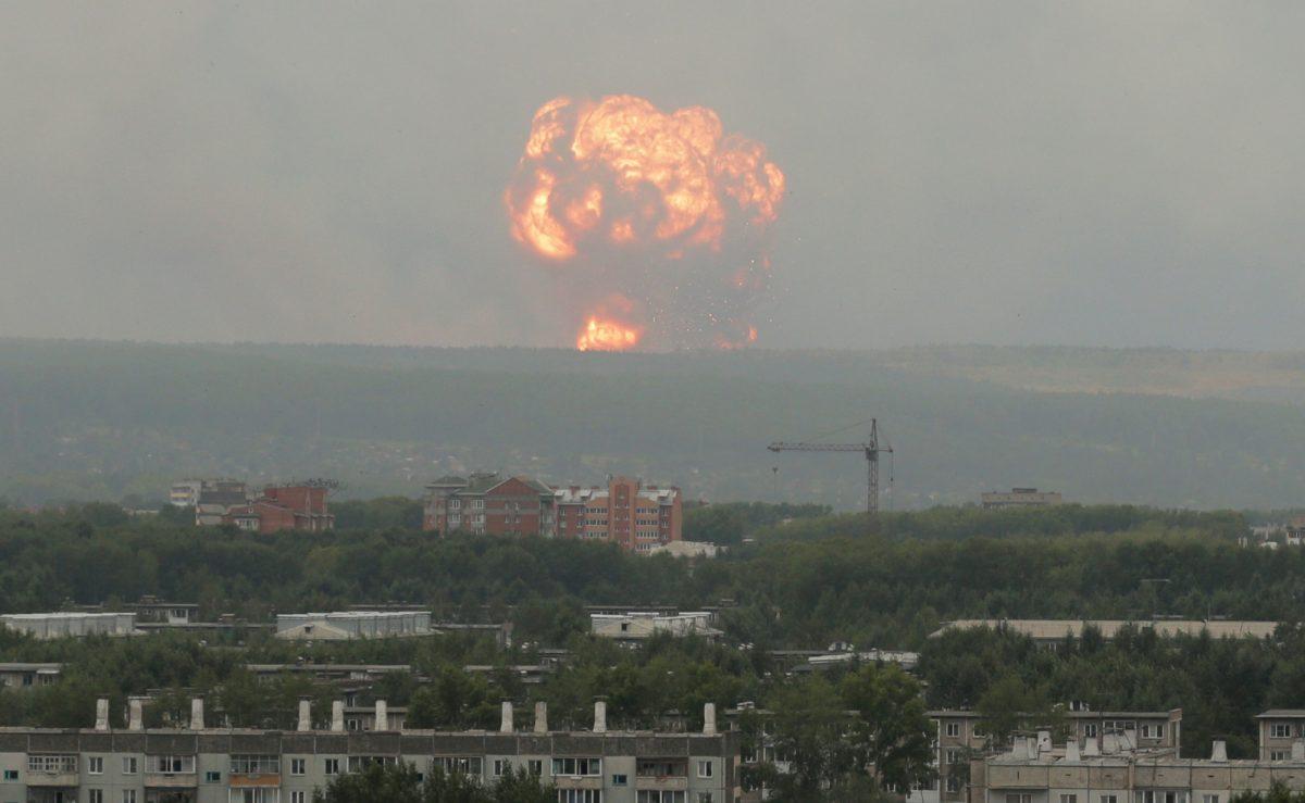 Russia-explosion