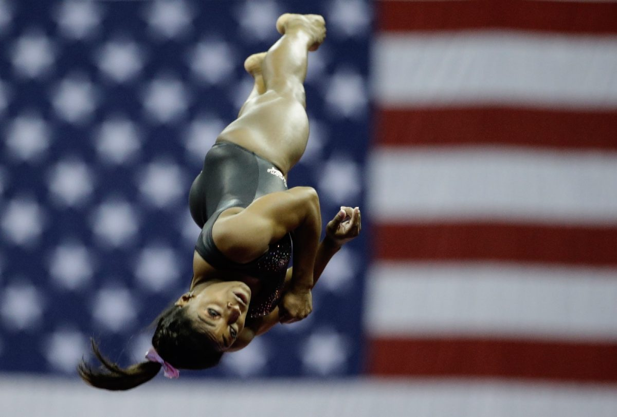 Simone Biles Gymnastics 1