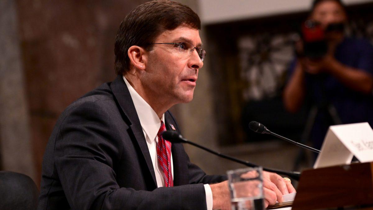 Defense Secretary nominee Mark Esper