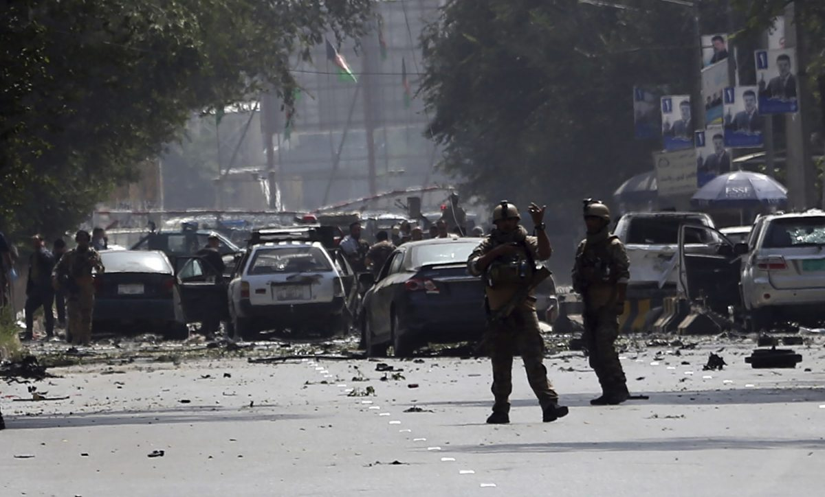 Afghanistan, Kabul suicide bomber 1