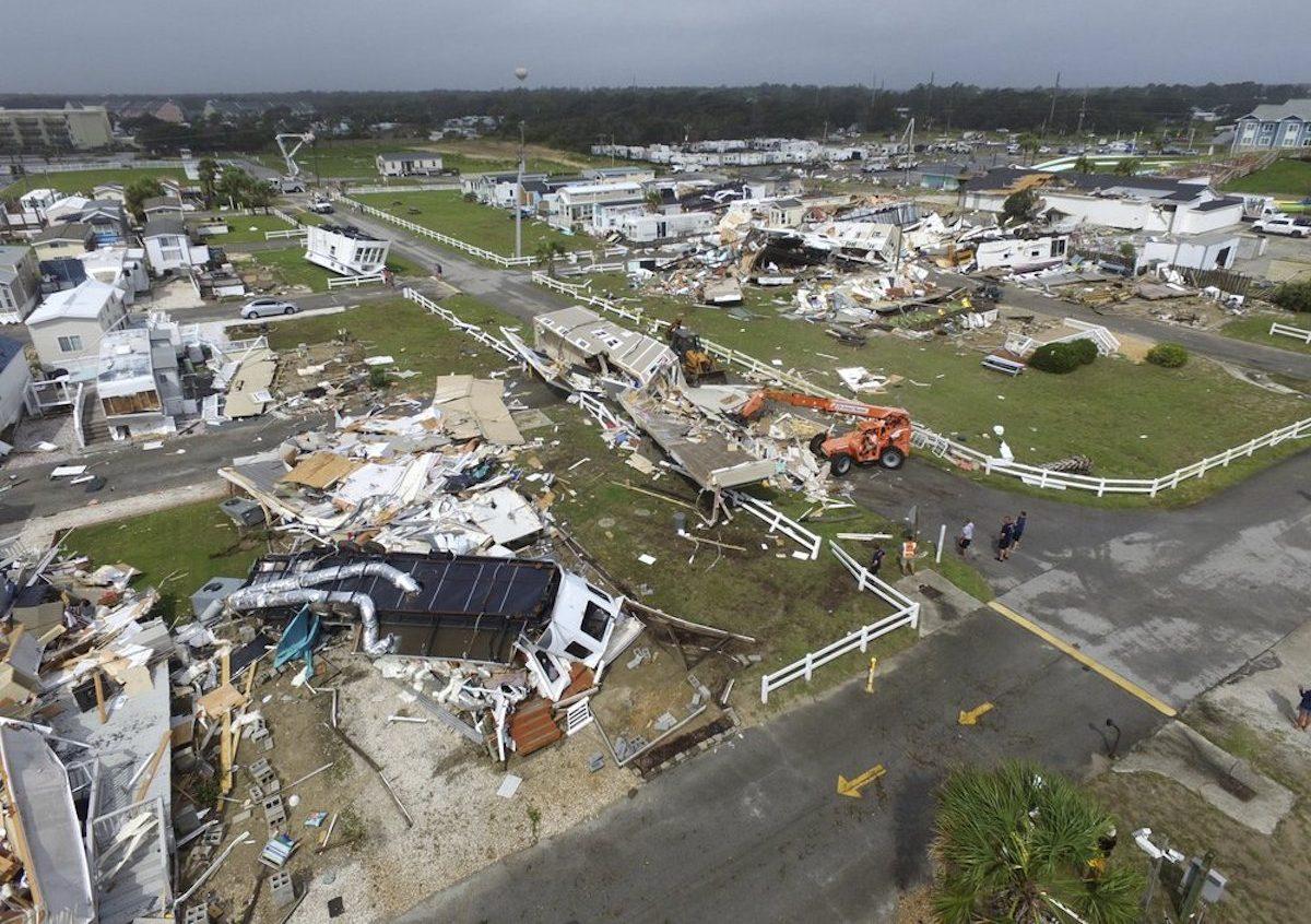 Hurrican Dorian in North Carolina