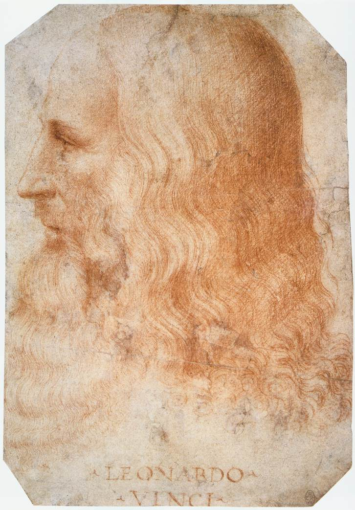 Portrait of Leonardo by Francesco Melzi. (Creative Commons/Wikimedia)