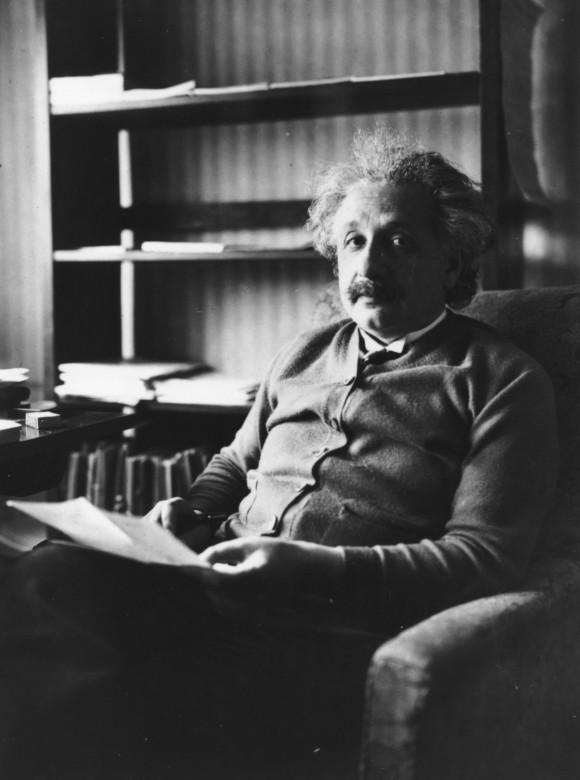 Physicist Albert Einstein in 1929. (Keystone/Hulton Archive/Getty Images)