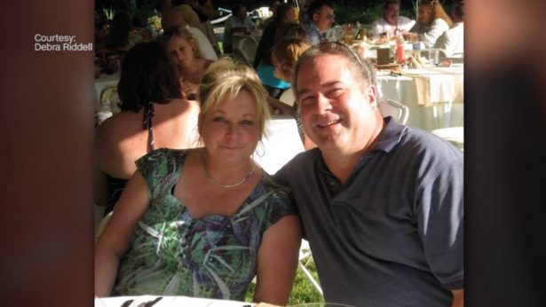 Robert Riddell and his wife Debra