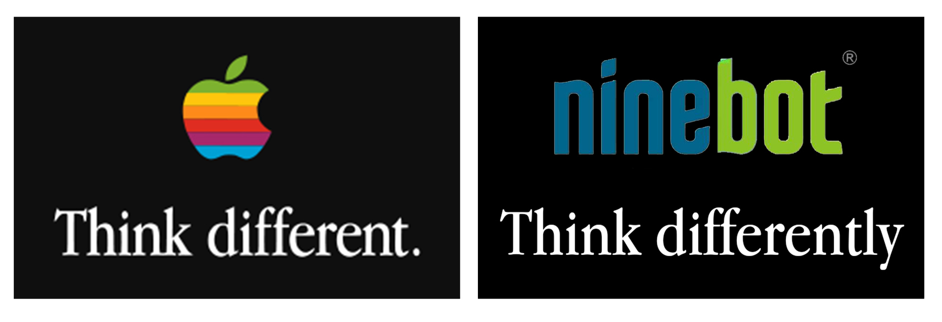 Ninebot's motto - committed to innovation