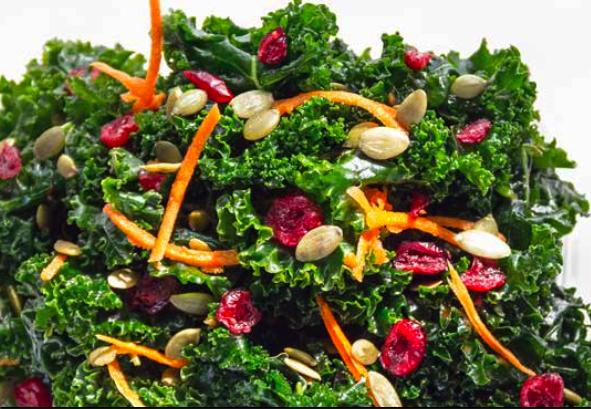 Kale salad. (Courtesy of Blossom du Jour)