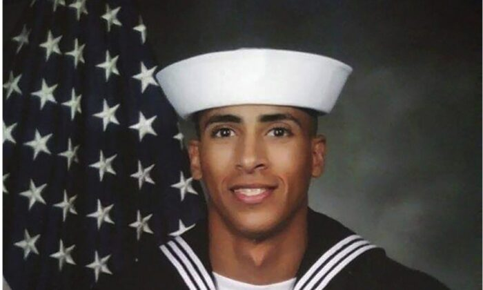Airman Mohammed Sameh Haitham, from St. Petersburg, Fla. One of the victims of the shooting at Naval Air Station Pensacola, Fla., on Dec. 6, 2019. (U.S. Navy via AP)